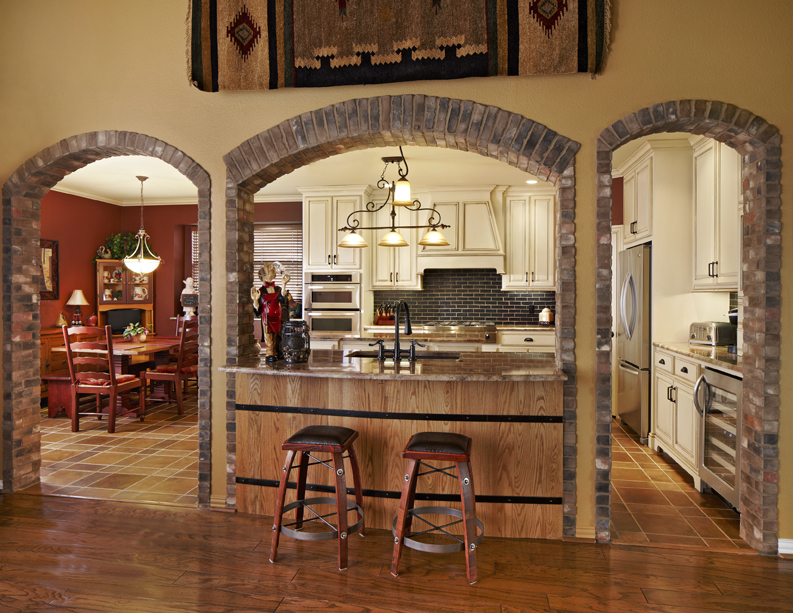 The Tuscan Style Emphasizes Carrollton Kitchen Design Remodel Sanctuary Usi